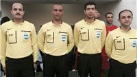 Trọng tài người Syria bắt trận U23 Việt Nam - U23 Hàn Quốc