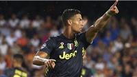 Video clip bàn thắng Frosinone 0-2 Juventus: Ronaldo lại ghi bàn