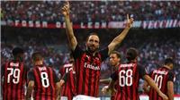 Video clip bàn thắng AC Milan 2-2 Atalanta: 'Siêu phẩm' của Higuain là không đủ