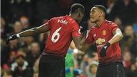 Video clip bàn thắng M.U 2-1 Everton: Martial lại tỏa sáng