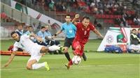 Chấm điểm Việt Nam 2-3 Iraq: Trọng Hoàng, Công Phượng và Quang Hải chơi xuất sắc