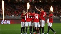 VIDEO MU 4-0 Leeds: Rashford và Martial lập công, MU thắng dễ