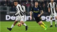 TRỰC TIẾP BÓNG ĐÁ: Juventus vs Inter Milan