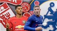 TRỰC TIẾP BÓNG ĐÁ: MU vs Chelsea (22h30 hôm nay)