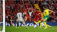 Liverpool 4-1 Norwich: Origi và Salah tỏa sáng, Alisson chấn thương