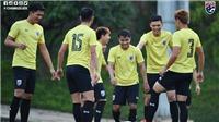 Trực tiếp bóng đá hôm nay: U22 Thái Lan vs U22 Lào. Trực tiếp bóng đá. Xem VTV6, VTV5