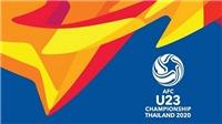 Lịch thi đấu VCK U23 châu Á: Lịch thi đấu U23 2020 của Việt Nam