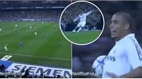 Xem lại pha kiến tạo 'điên rồ' của Beckham cho Ronaldo năm 2006