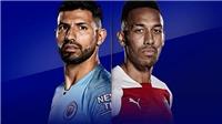 Link xem trực tiếp bóng đá Man City vs Arsenal. K+PM trực tiếp bóng đá Anh