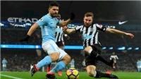 Link xem trực tiếp bóng đá. Newcastle vs Man City. Trực tiếp bóng đá Anh. FA Cup
