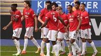 ĐIỂM NHẤN Leicester 0-2 MU: Fernandes và Lindelof tỏa sáng. MU xứng đáng dự C1
