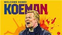 Barcelona chính thức bổ nhiệm Ronald Koeman làm HLV mới