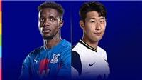 Link xem trực tiếp Crystal Palace vs Tottenham. Trực tiếp bóng đá Ngoại hạng Anh vòng 12