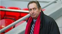 Cựu HLV Liverpool Gerard Houllier qua đời ở tuổi 73