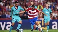 Link xem trực tiếp Granada vs Barcelona. BĐTV trực tiếp bóng đá Tây Ban Nha
