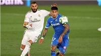 Link xem trực tiếp Real Madrid vs Getafe. BĐTV trực tiếp bóng đá Tây Ban Nha La Liga
