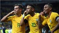 HLV Tite xác nhận đội hình chính của Brazil tới Nga: Firmino, Ederson không 'có cửa'