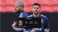 Aguero có hành động 'lạ', dọn đường cho Messi tới Man City?