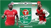 Soi kèo nhà cái Liverpool vs Arsenal. Vòng 4 Cúp Liên đoàn Anh. Trực tiếp Thể thao TV HD