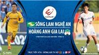 Soi kèo bóng đá SLNA vs HAGL. Trực tiếp bóng đá V-League 2020