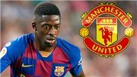 Chuyển nhượng bóng đá Anh 6/10: Lộ lý do MU không có Dembele. Man City đau đầu vì trung vệ