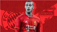 Liverpool đạt thỏa thuận chiêu mộ Thiago Alcantara