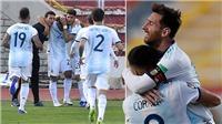 Bolivia 1-2 Argentina: Messi im tiếng, Lautaro và Correa giúp Argentina ngược dòng