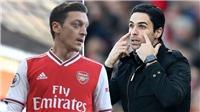 Arsenal: Arteta phũ phàng với Oezil vì Partey