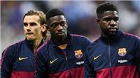 Barcelona rao bán 5 cầu thủ để bù lỗ: Có cả Dembele và Umtiti