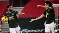 Southampton 2-3 MU: Cavani và Fernandes tỏa sáng, MU ngược dòng ngoạn mục