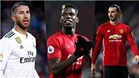 Mourinho loại Pogba, Sergio Ramos, Ibrahimovic khỏi đội hình tiêu biểu của mình