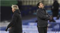 Everton 2-1 Arsenal: Arteta nối dài chuỗi trận khủng hoảng