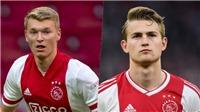Ajax gây xôn xao khi giới thiệu trung vệ giống hệt De Ligt