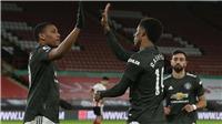 Sheffield 2-3 MU: Rashford và Martial sửa sai cho Henderson, MU lại thắng ngược dòng