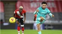 Liverpool: Alexander-Arnold mất bóng 38 lần ở trận thua Southampton