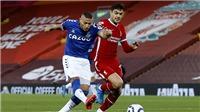Liverpool 0-2 Everton: Khủng hoảng hàng thủ, Liverpool gục ngã ngay ở Anfield