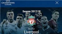 UEFA biết trước Liverpool vô địch dù chung kết Champions League chưa diễn ra