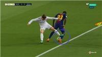 Bale phạm lỗi thô bạo nhưng thoát án phạt, CĐV Barca tố Real Madrid mua trọng tài