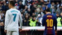 Leo Messi sẽ trừng phạt sai lầm bán Ronaldo của Florentino Perez