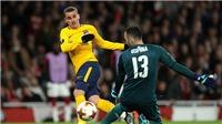 Video clip highlights bàn thắng Atletico Madrid 1-1 Arsenal (luân lưu 3-1)