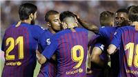 Video clip highlights bàn thắng trận Barcelona 2-4 Roma: Thua ngược trên đất Mỹ