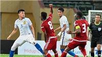 Đá giao hữu, cầu thủ U23 Malaysia và U23 UAE vẫn ẩu đả, có nguy cơ bị cấm dự ASIAD 2018