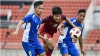 Đối thủ của U23 Việt Nam nhận thêm thất bại nặng nề trước thềm ASIAD 2018