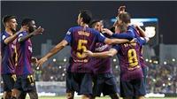 Barcelona 2-1 Sevilla: Dembele lập 'siêu phẩm', Barca giành Siêu cúp Tây Ban Nha