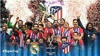 Video clip bàn thắng Real Madrid 2-4 Atletico: Diego Costa toả sáng, Atletico giành Siêu cúp châu Âu