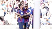 TRỰC TIẾP Barcelona vs Alaves (3h15, 19/8)
