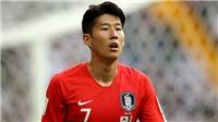 Son Heung-Min lên tiếng xin lỗi sau thất bại gây sốc của U23 Hàn Quốc