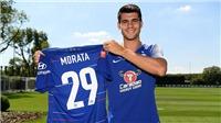 Morata bất ngờ đổi số áo ở Chelsea vì một lý do đặc biệt