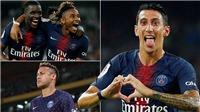 Video clip highlights bàn thắng PSG 4-0 Monaco: Neymar trở lại và Di Maria rực sáng