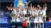 Tiền thưởng Champions League tăng khủng khiếp trong mùa giải này